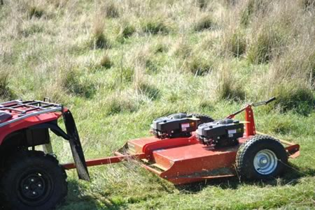 Tow and Mow Twin 1000